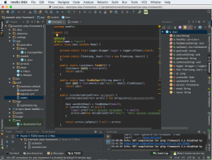 Play-Framework: IntelliJ