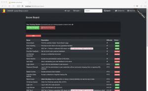 OWASP-Saftladen Aufgaben
